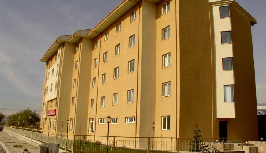 Erzincan İl Spor Müdürlüğü Kamp Tesisi Binası