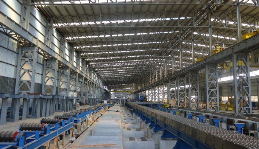 MASS Grup Holding –  Mass Iraq Demir Çelik Tesisi